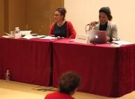 Madame Sérénade Chafik, Co-fondatrice de l'association Les Dorine et Madame Laetitia Nonone, Représentante du Conseil National des Villes (CNV)